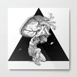 ATLAS OF HEARTS Metal Print