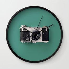 camera vintage analog Wall Clock