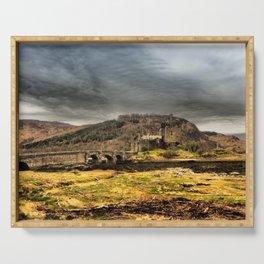 Return to Eilean Donan Castle, Scotland Serving Tray