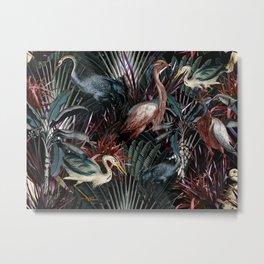 Floral and Birds XXXVIII Metal Print