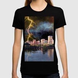 Stormy Richmond Skyline T-shirt