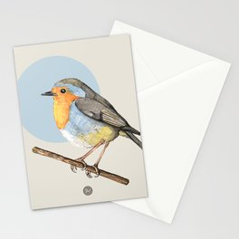 Cute Robin Stationery Cards