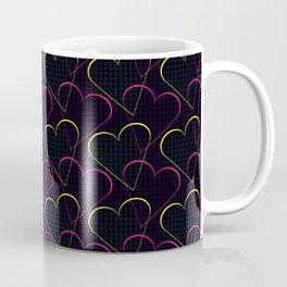 Melodic Heart - Neon Coffee Mug