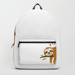 Sloth Lazy Chill Relax gift idea Backpack