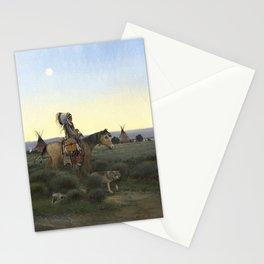 Buffalo Hunter Stationery Cards
