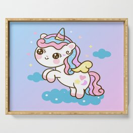 Magical Unicorn Serving Tray