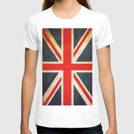 Vintage Union Jack British Flag T-shirt
