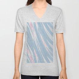 Pastel Morning Waves Unisex V-Neck