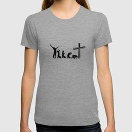 Funny Evolution Of Jesus Religion Christian Gift T-shirt