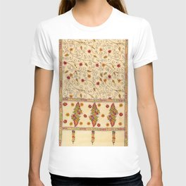 Kantha Fabric Art T-shirt