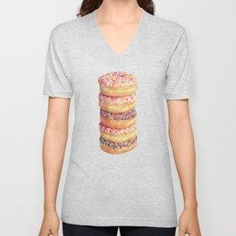 Stack of Donuts Unisex V-Neck