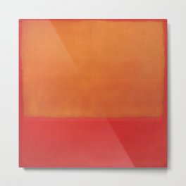 1954 Ochre Red on Red by Mark Rothko HD Metal Print
