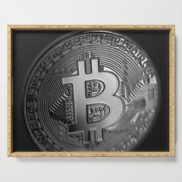 Bitcoin 11 Serving Tray
