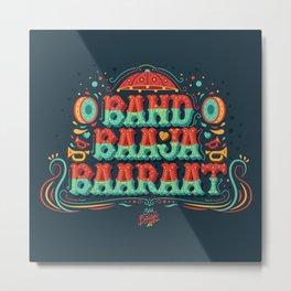 Band Baaja Baaraat Metal Print