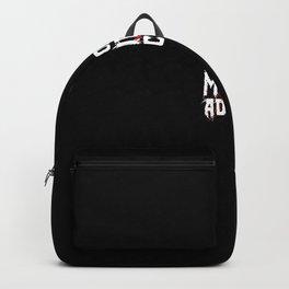 Horror Movie Addict - Halloween gift idea fun Backpack