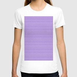 Purple ornament 4 T-shirt
