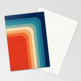 Retro 70s Color Palette III Stationery Cards