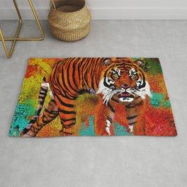 Tiger So Fierce Rug