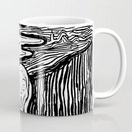 "Edvard Munch ""The Scream"", 1895 Coffee Mug"