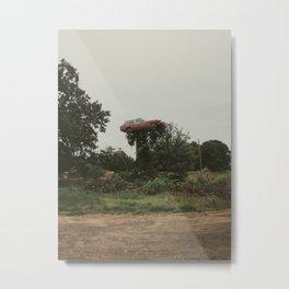 One Man Show Metal Print