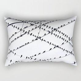 The Grackles Rectangular Pillow
