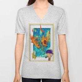 Van Gogh Unisex V-Neck