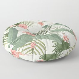 Tropical Nature Floor Pillow