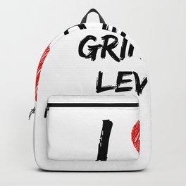 I Love Grinding Levels Backpack