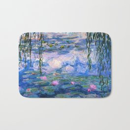 Water Lilies Monet Badematte