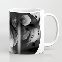 abstract fractals 1x1 reacbwi Coffee Mug