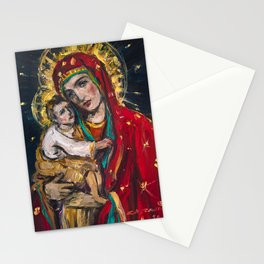 Mother of Perpetual Help Stationery Cards