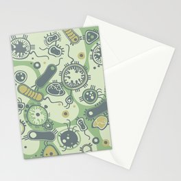 Eukaryote (green) Stationery Cards
