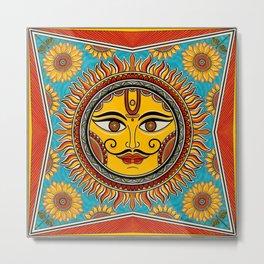 The sun god Metal Print