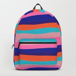 '67 sunset stripes Backpack