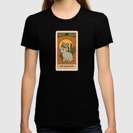The Jackalope - Cryptid Tarot Card T-shirt