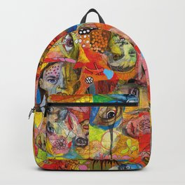Face Pattern Backpack