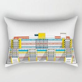 Hospital Universitario de Caracas HUC Rectangular Pillow