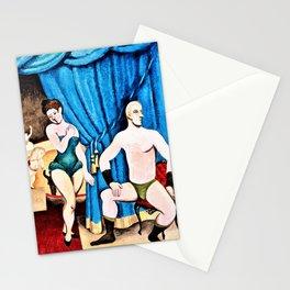 Roger de La Fresnaye - Acrobats - Digital Remastered Edition Stationery Cards