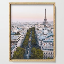 Paris City Serving Tray