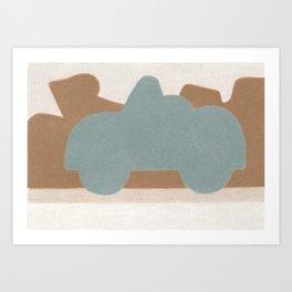 Deep in Moab Art Print