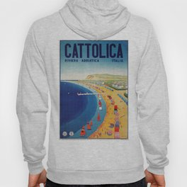 Cattolica 1920s Italy travel Hoody