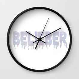 belieber Wall Clock