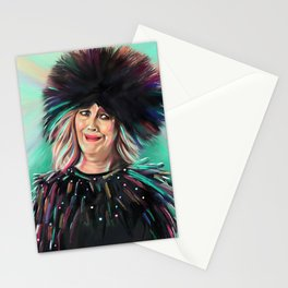 Moira Rose - Schitt's Creek - Catherine O'Hara - Bebe - Artwork Stationery Cards