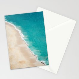 Turquoise water in Portugal Stationery Cards
