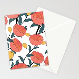 TULIPS PANEL Stationery Cards