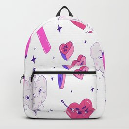 Heartbreak Funny Anti Valentine Romance Backpack