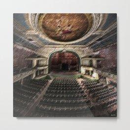 Phantom of New Bedford - Orphuem Theater Painting by Jeanpaul Ferro Metal Print