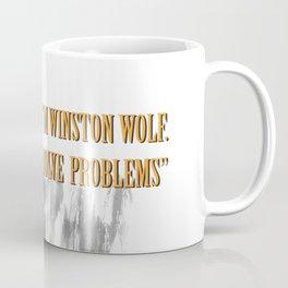 Winston Wolf in Pulp Fiction Coffee Mug