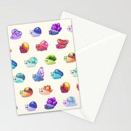 Jewel Snail - pastel Stationery Cards