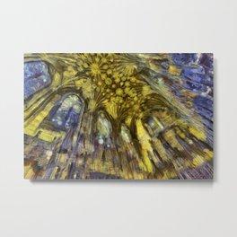 St Giles Cathedral Van Gogh Metal Print
